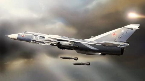 Су-24 с комплексами «Стрелец…