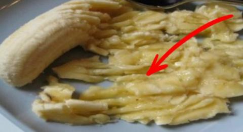 Измельчи банан и добавь еще …