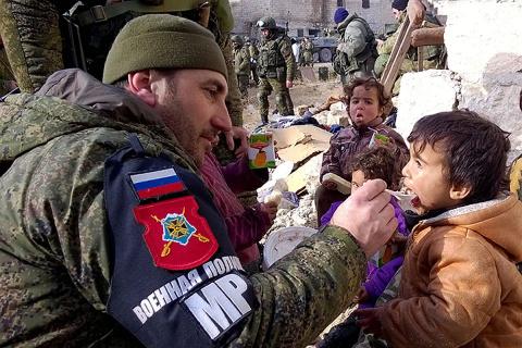 Российский спецназ в Сирии с…