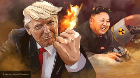 Дональд Трамп обозвал Ким Чен Ына «сумасшедшим с ядерным оружием»