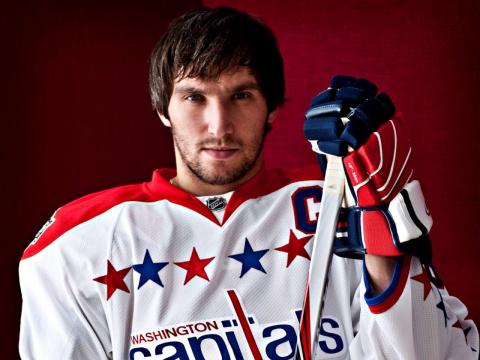 Овечкин попал в топ-5 хоккеи…