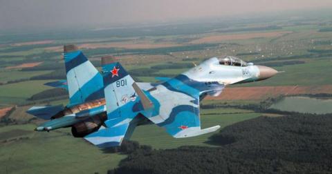 Российский истребитель раску…