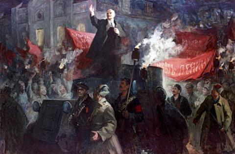 Ленин опередил захват Петрог…