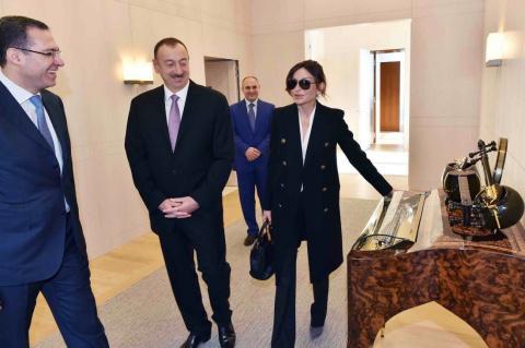 Президент Азербайджана Ильха…