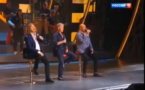 """Великолепное трио: Газманов, Николаев, Крутой - """"Доча"""". Настоящее признание всех любящих отцов своим принцессам!"""