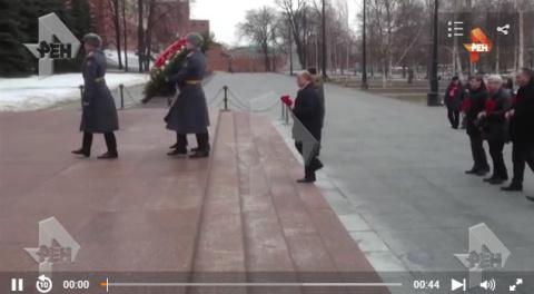 Политики возложили цветы к м…