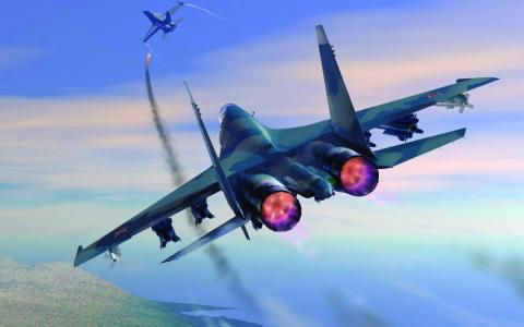 Пилот ВВС США обделался и уб…