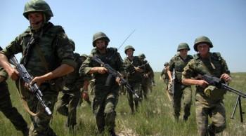 Десантники РФ провели «бой» …