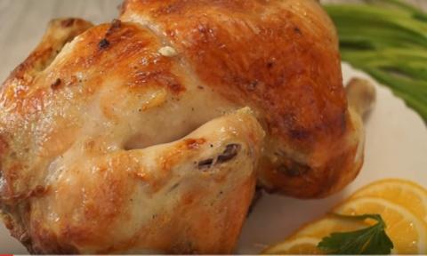 Курица запеченная в духовке …