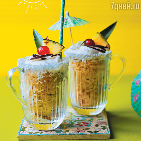 Десерт «Пина Колада»: рецепт…