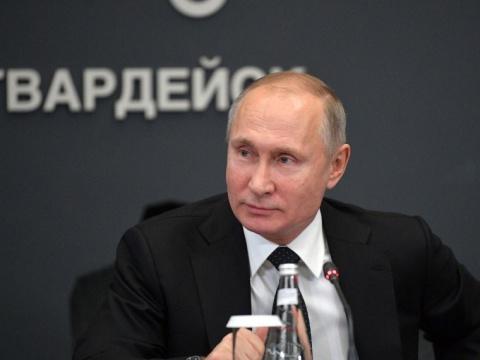 «Российская партия пенсионеров засоциальную справедливость» поддержала Путина кандидатом навыборы-2018