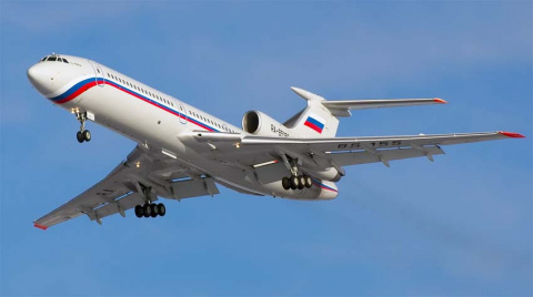 Ту-154 разбился после трёх к…