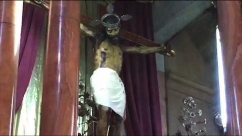 В Мексике статуя Иисуса Христа открыла глаза