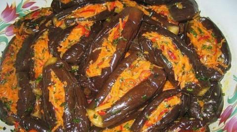«Манзаны» фаршированные баклажаны по-гречески