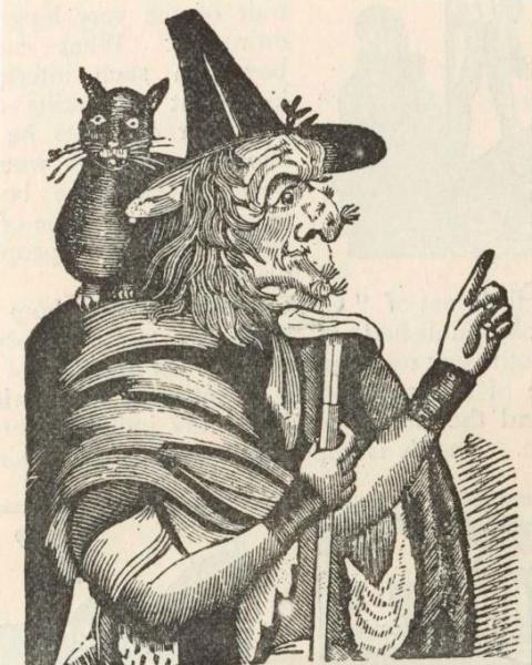 Англичане устраивали охоты на ведьм даже в конце 19 века