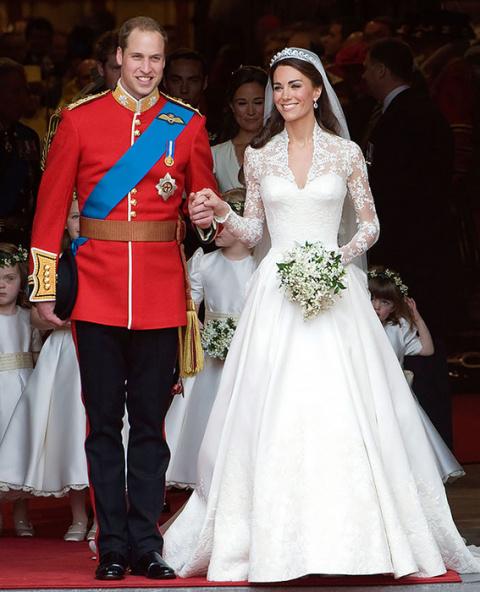 Королевский стиль: 9 незабываемых выходов Кейт Миддлтон и принца Уильяма