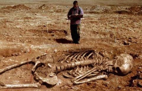 Тропою гигантов: Данные Библии и поддельные кости циклопов
