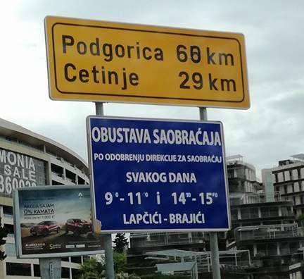 С места событий: В Черногории заблокированы дороги к Цетинью в день голосования о НАТО