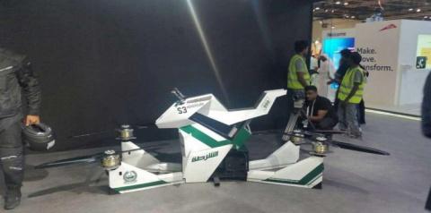 Полиция Дубая тестирует летающие мотоциклы