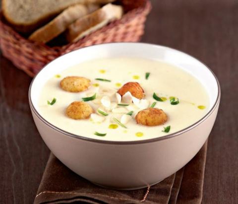 Нежный суп-пюре из цветной к…