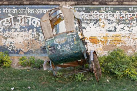 Старые  добрые забытые рикши