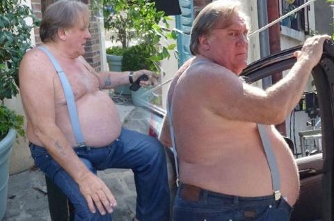 Жерар Депардье продолжает набирать вес