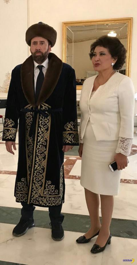 Николас Кейдж в Казахстане п…