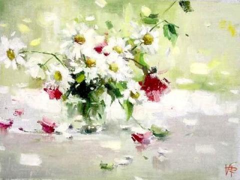 «Где-то там живет мой цветок…» Художник Виктория Федоренко