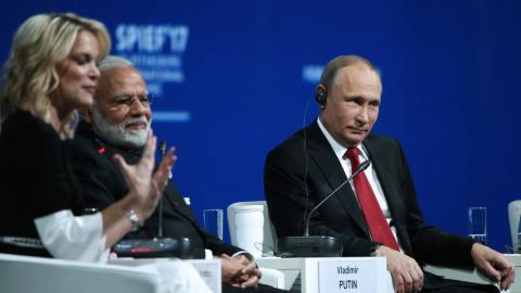 Американская телеведущая рассказала, что увидела в Путине двух разных людей