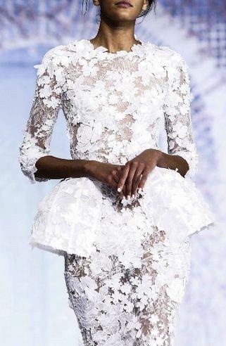 Ralph & Russo  Haute Couture весна-лето 2016  — ослепительной красоты вечерние платья