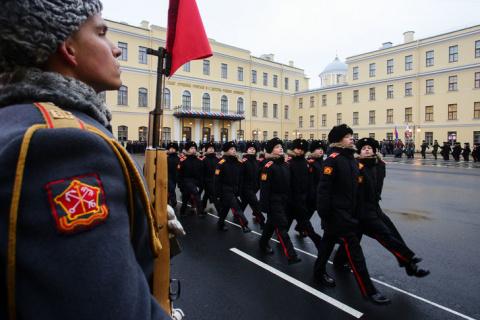В Санкт-Петербурге открыли новый военный городок Суворовского военного училища