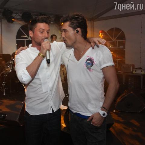 Дима Билан и Сергей Лазарев …