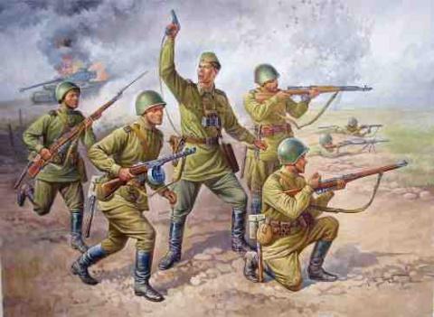 18 пограничников против 200 немцев!