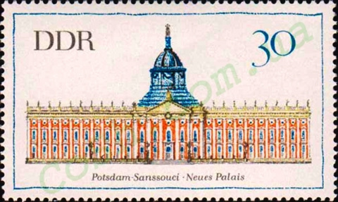 История ГДР в почтовых марках.