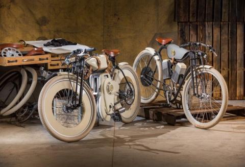 Ariel Cruiser - мотоцикл с ГБО в ретро-стиле