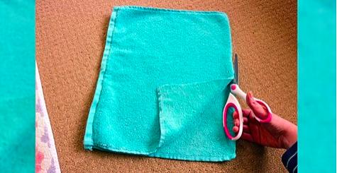 Как сделать коврик в ванную …