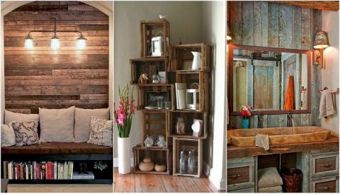 Идеи оформления дома в деревенском стиле