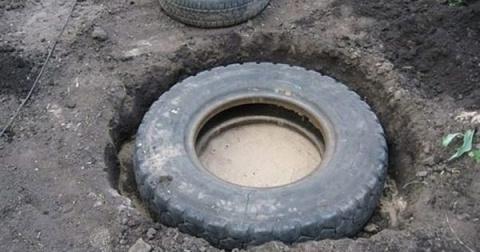 Соседка выкопала три ямы на …