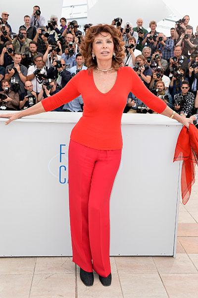 Легенда кино Софи Лорен вернулась на экраны