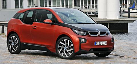 BMW обновит электрокар i3