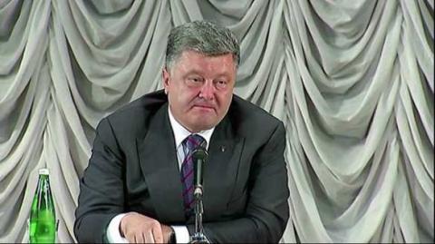 Знаете ли вы, что: Порошенко сообщил, что у Киева с Донбассом нет никаких проблем