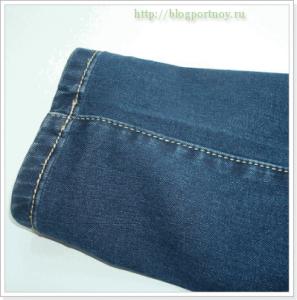 ПОРТНЯЖНЫЕ СЕКРЕТЫ. Как укоротить джинсы