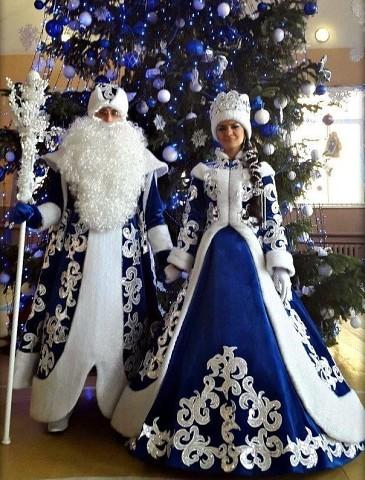 Вот это я понимаю Дед Мороз и Снегурочка!