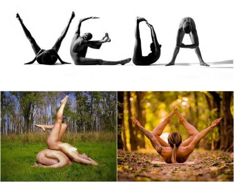 Голая йога набирает популярн…