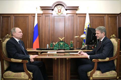 Путин поздравил селян с большой победой