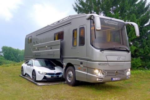 Дом и гараж на колесах за 1 700 000$