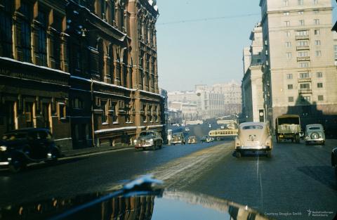 Дороги СССР 1950-х глазами а…