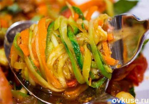 Салат из кабачков по-корейск…