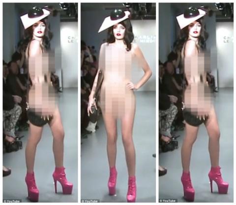 Последнее табу в мире моды нарушено: модели вышли на подиум голыми