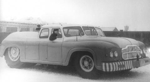 МАЗ-541: самый большой седан…